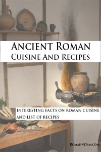 ancient roman cuisine book cover