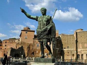 emperor augustus statue rome