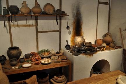 ancient roman kitchen