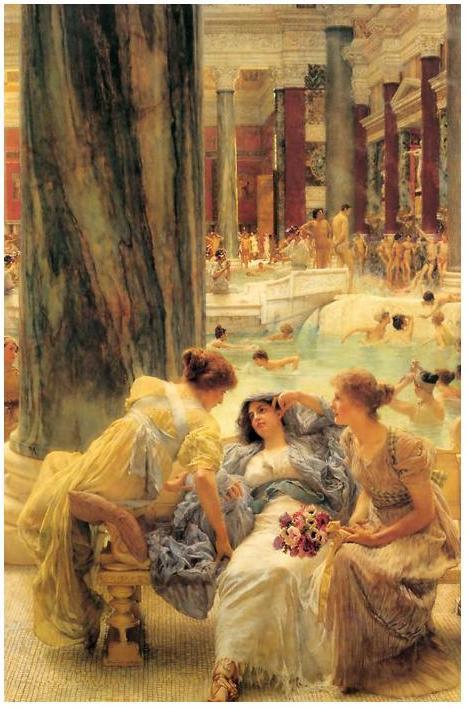Baths of Caracalla Lawrence Alma Tadema