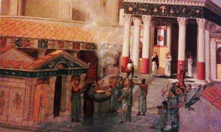 isis temple pompei