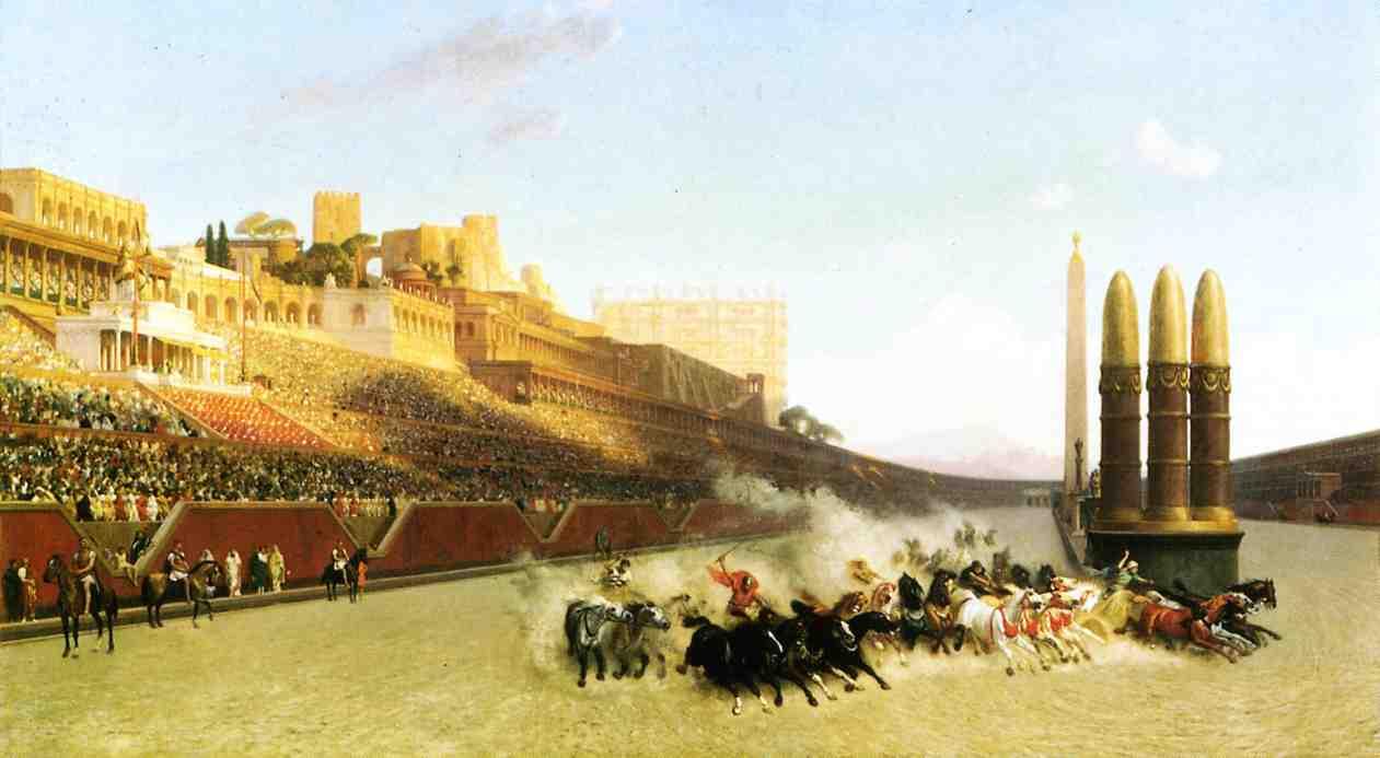 Jean Leon Gerome Circus Maximus