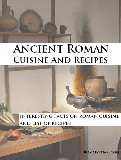 ancient roman cuisine book