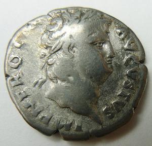 nero roman coin