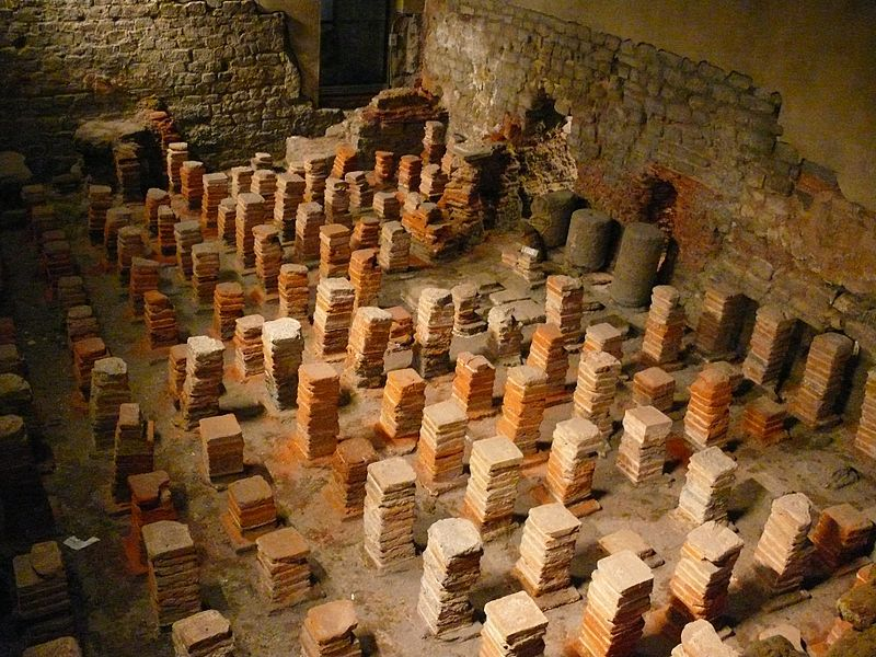 roman baths hypocaust