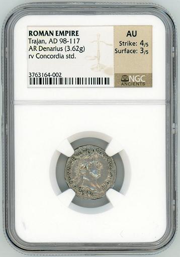 trajan denarius