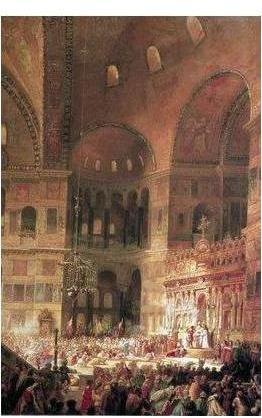 agia sophia in 1100