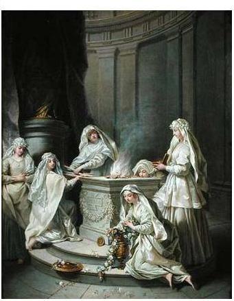 vestal virgins raoux